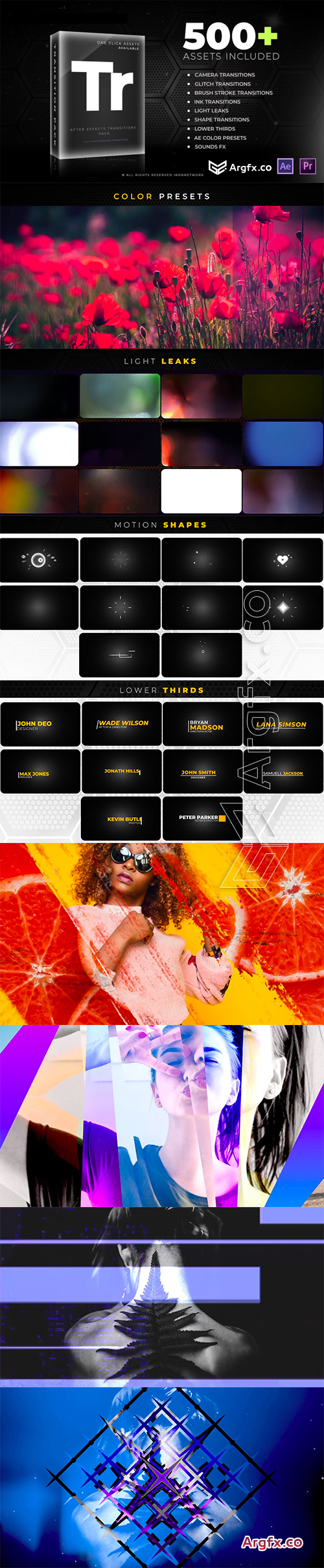 Videohive Transitions V2 21637768
