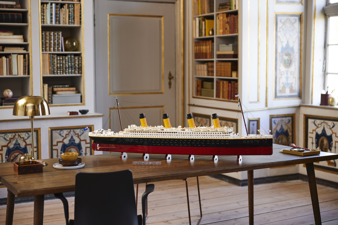 LEGO unveils the grandest ship in history - RMS Titanic