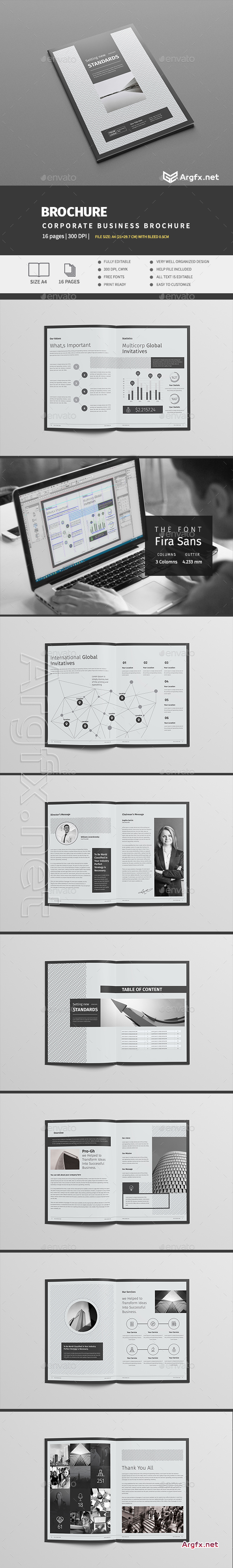 Multipurpose Brochure Template 16 Pages 15981025